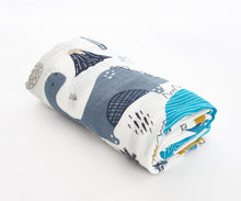 Load image into Gallery viewer, [Mimosa] Multi-Purpose Bamboo Muslin Swaddle - Not Too Big (Dino 2)