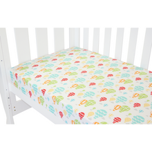 Load image into Gallery viewer, Babyhood colorful fitted sheet for baby cot