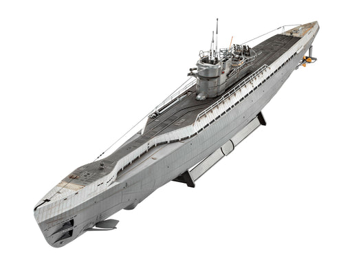 German Submarine type IX C/4 1/72 - Hobbyhjørna