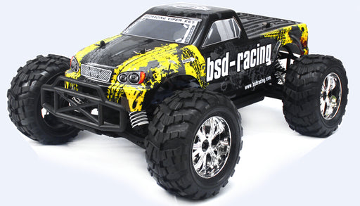 BSD 1/10 MONSTER TRUCK BRUSHED - Hobbyhjørna