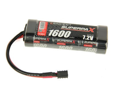 BATTERY 2/3A 7.2V 6 CELL 1600 mAh NIMH STICK WITH DEANS   AURA 650 RTR SAILBOAT   BATTERY SC 7.2V 6 CELL 200 - Hobbyhjørna