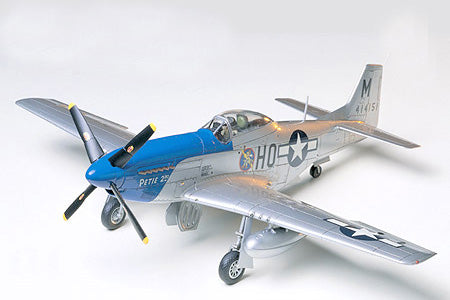 MUSTANG P-51D 8-TH AIR FORCE NORTH AMERICAN 1/48 - Hobbyhjørna