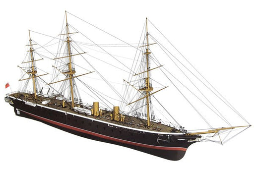HMS WARRIOR -WOODEN HULL 1:100
