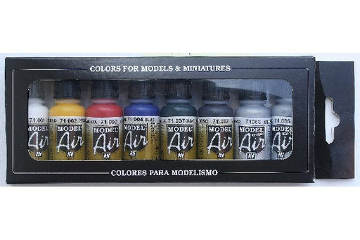 MODEL AIR SET, BASIC COLORS (8)