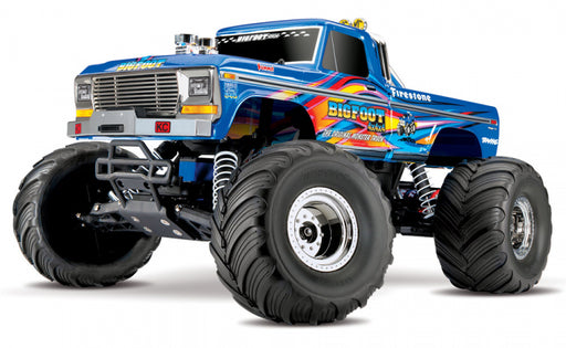 BIGFOOT No.1 Classic 1/10 RTR Blue-X  med batteri/lader