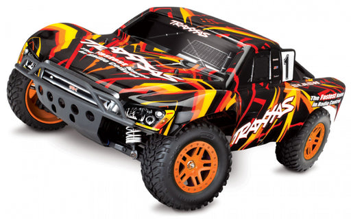 Slash 4x4 12T/XL-5 1/10 RTR TQ Orange  med batteri/lader