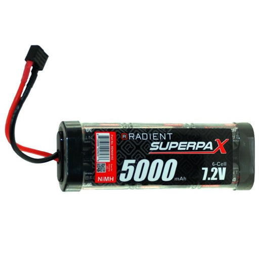 BATTERY SC 7.2V 6 CELL 5000 mAh NIMH STICK WITH DEANS - Hobbyhjørna