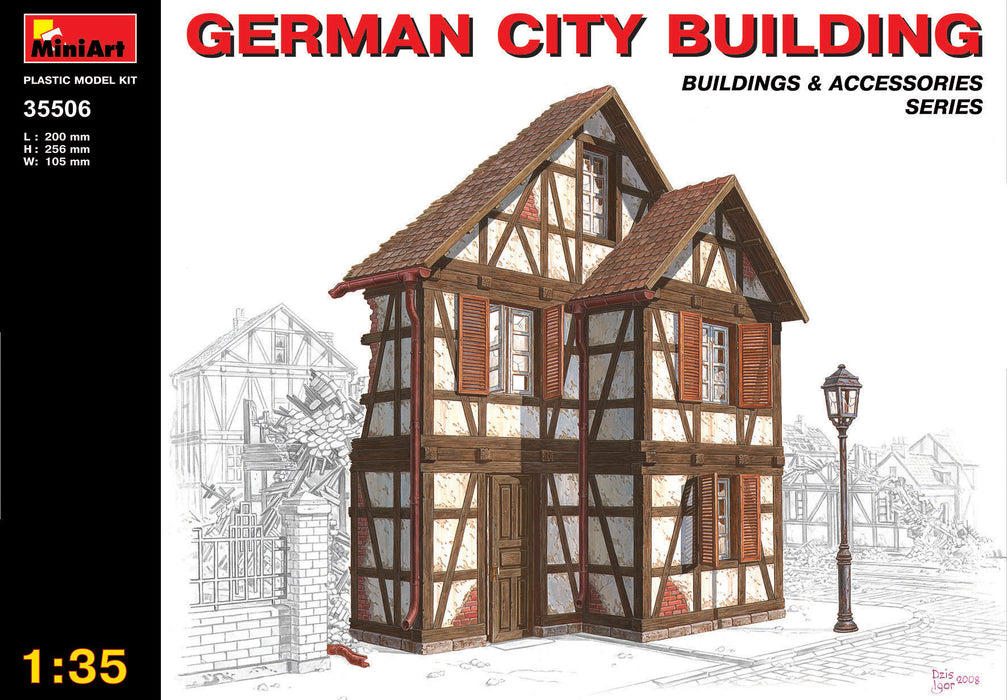 GERMAN CITY BUILDING 1/35