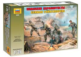 1/35 German Paratroops WWII