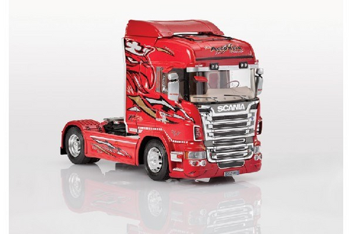 "1:24 SCANIA R560 V8 HIGHLINE ""RED GRIFFIN"" - Hobbyhjørna"