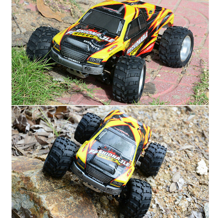 1:18 RC 4WD OFFROAD FASHIONABLE YELLOW – 35 km/h