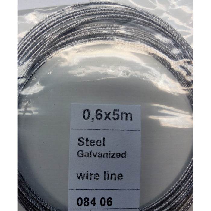 Wire 0.6mm (5m) - Hobbyhjørna