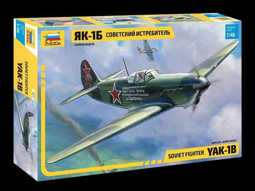 YAK-1B SOVIET FIGHTER 1/48 - Hobbyhjørna