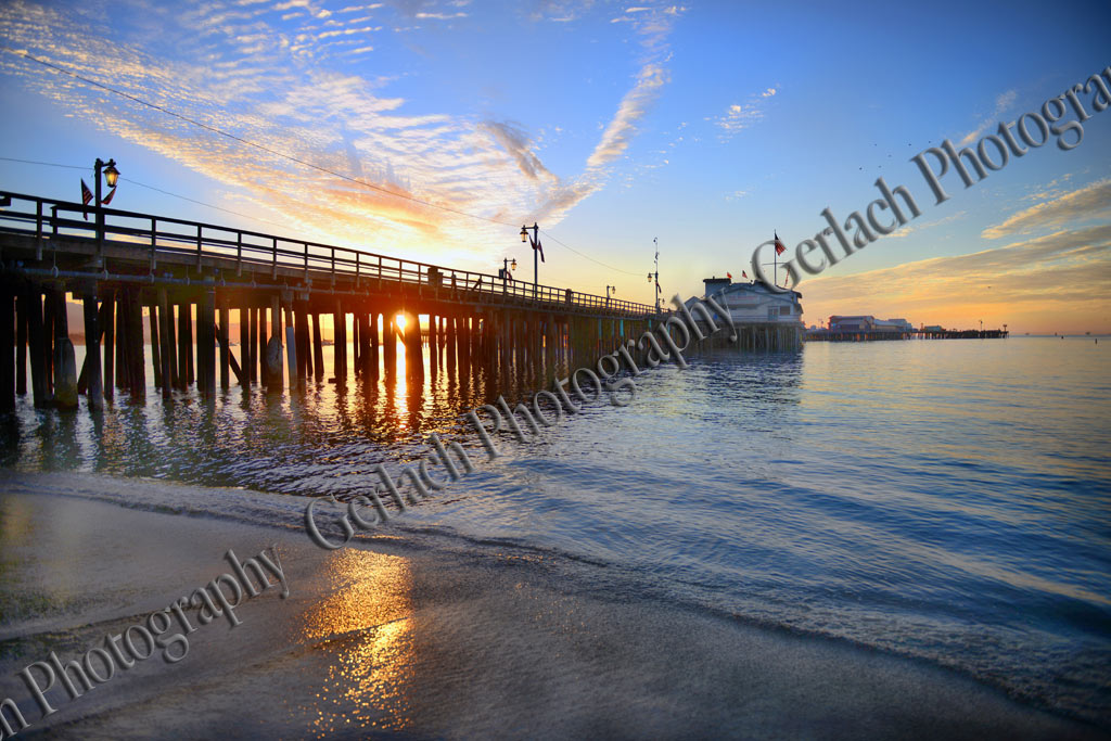 Stearns Wharf Sunrise