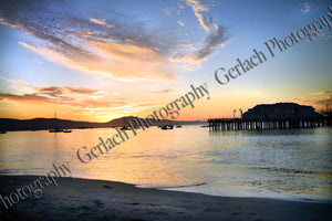 Beach and Wharf Sunrise