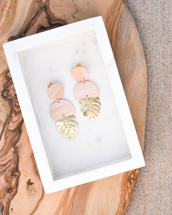 Coachella Clay Earring
