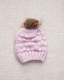 Knitted Pom Hat (4367538880602)