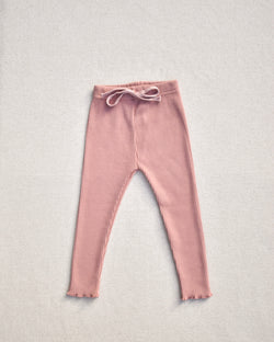 Rose Ribbed Pants