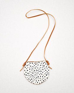Spotted Leather Purse