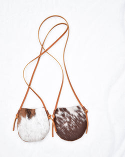 Cowhide Leather Mini Purse