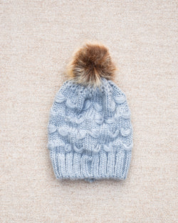 Knitted Pom Hat (4356724949082)
