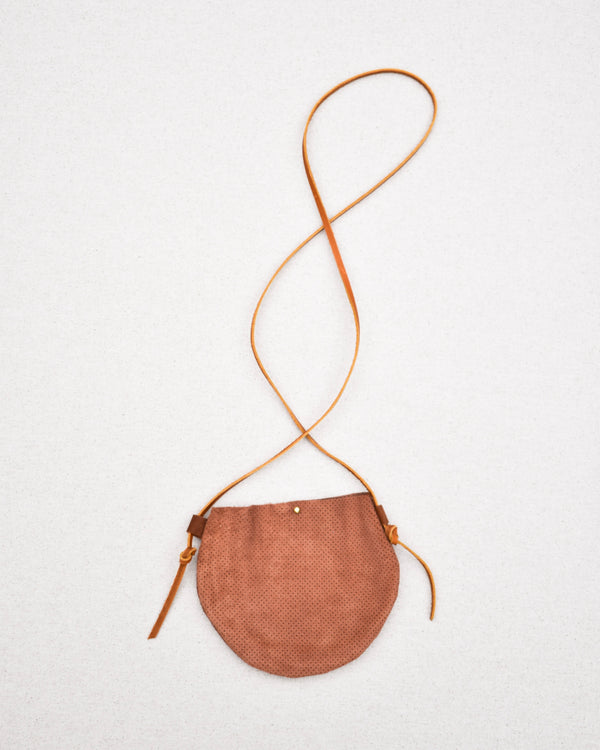 Mauve Suede Purse