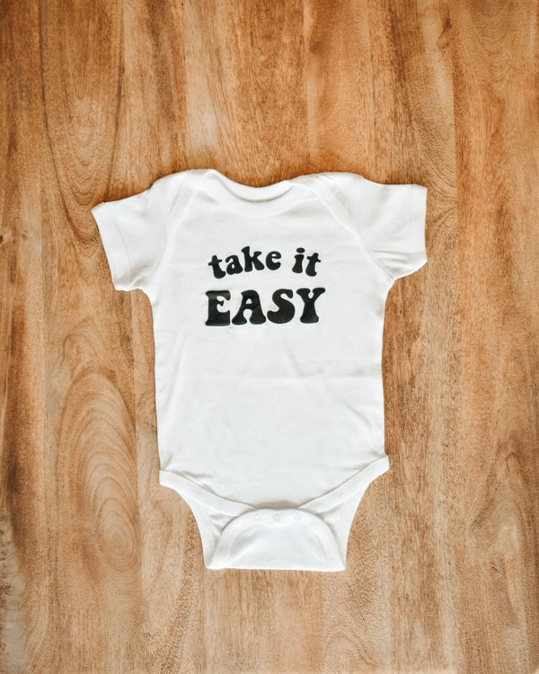 Take It Easy Onesie (1900039503962)