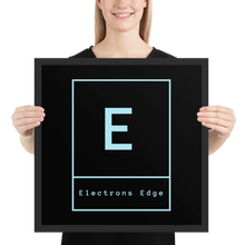 Load image into Gallery viewer, Framed Electrons Edge Logo