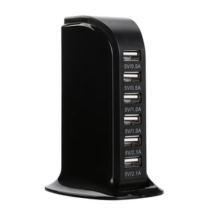 EU USB 5 port Charging Hub