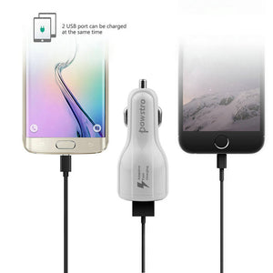 Fast Dual USB Phone Car Charger