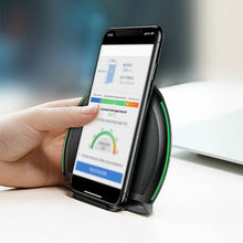 Load image into Gallery viewer, Dual Position Wireless Charger For All Qi-certified iOS and Android devices