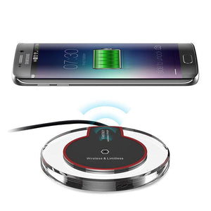Wireless Charger Compatible with Qi Certified Devices