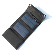 Load image into Gallery viewer, 7W Waterproof, Folding, Solar Power Panel Charger For Cell Phones
