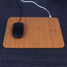 Load image into Gallery viewer, Non-Slip Mouse Pad w/Qi Wireless Charger
