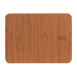 Non-Slip Mouse Pad w/Qi Wireless Charger