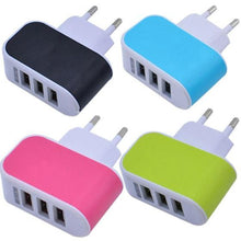 Load image into Gallery viewer, EU USB 2.0 Universal Travel Charger