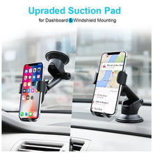 Load image into Gallery viewer, 2 in 1 Wireless Quick Car Charger for Qi-certified iOS and Android devices