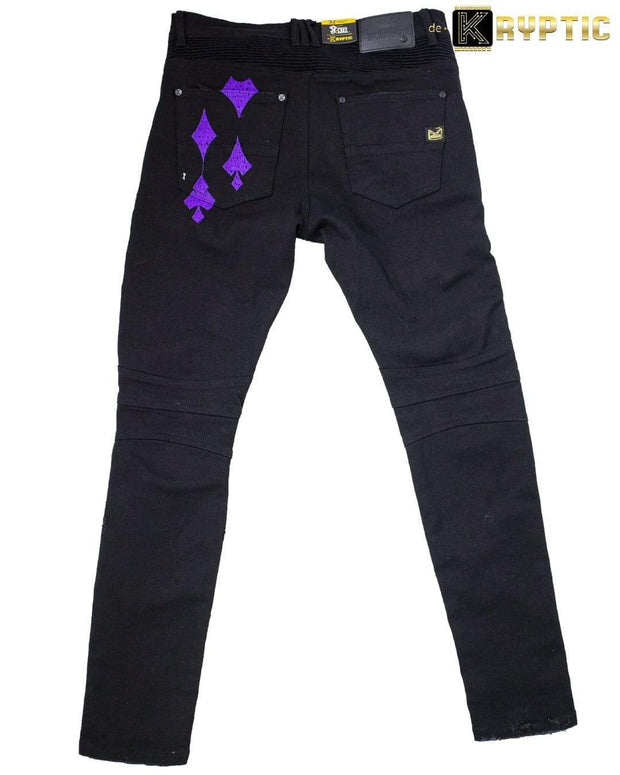deKryptic x The Joker™ - Joker & Harley Quinn: Tango With Evil - Denim Jean