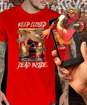 Night Of The Living Dead™ Dead Inside Augmented Reality T-Shirt