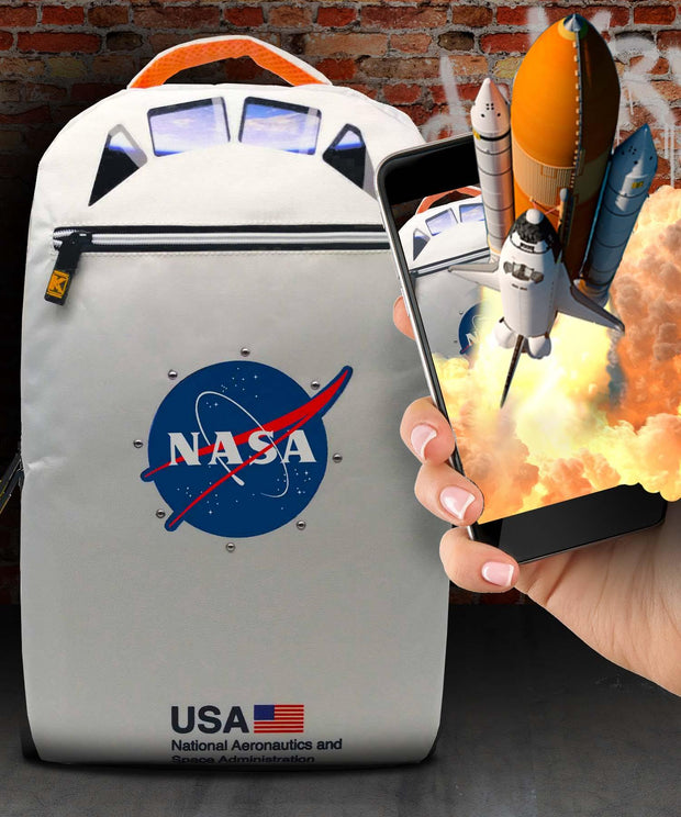 NASA™ Space Shuttle Augmented Reality Bag