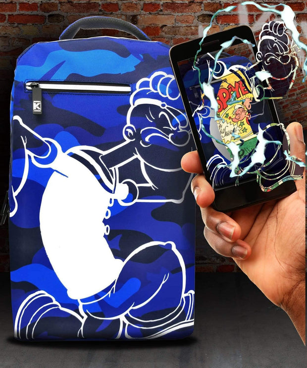 Popeye™ Shark Camo Augmented Reality Backpack