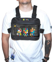 Rubik's Unusual Suspects Augmented Reality Chest Bag - de•Kryptic