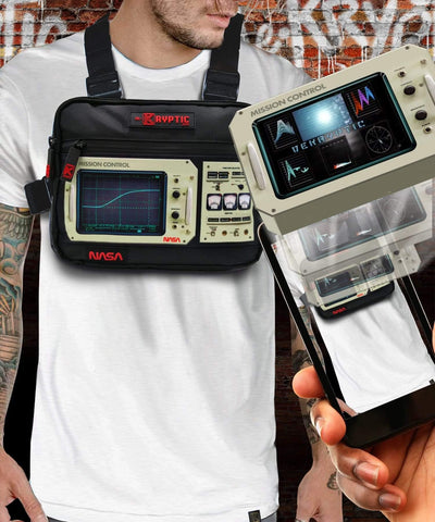 NASA™ MISSION CONTROL CHEST BAG