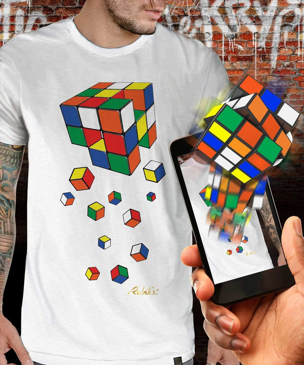 Rubik's™ Cube Regeneration Augmented Reality T-Shirt