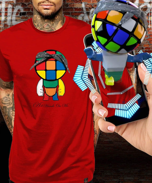 Rubik's™ Cube Life Augmented Reality T-Shirt