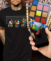Rubik's Unusual Suspects Augmented Reality T-Shirt