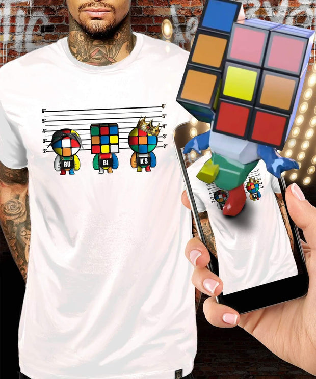 Rubik's™ Unusual Suspects Augmented Reality T-Shirt