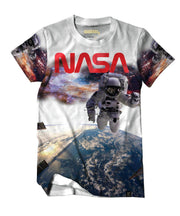 NASA™ Spaceman White Augmented Reality T-Shirt