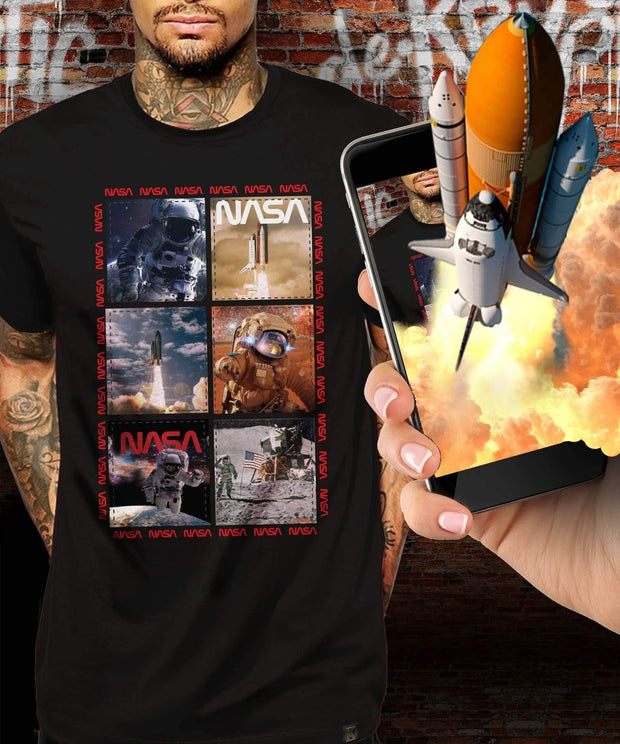 NASA™ Snapshot Augmented Reality T-Shirt