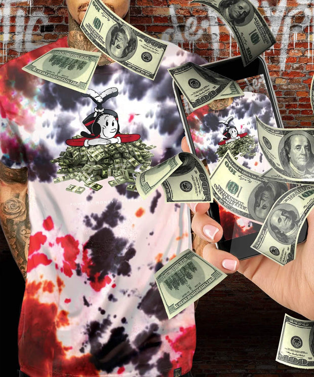 Popeye™ Olive Oyl Money Augmented Reality T-Shirt